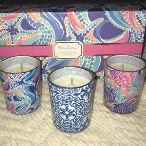 Lily Pulitzer Candle Set